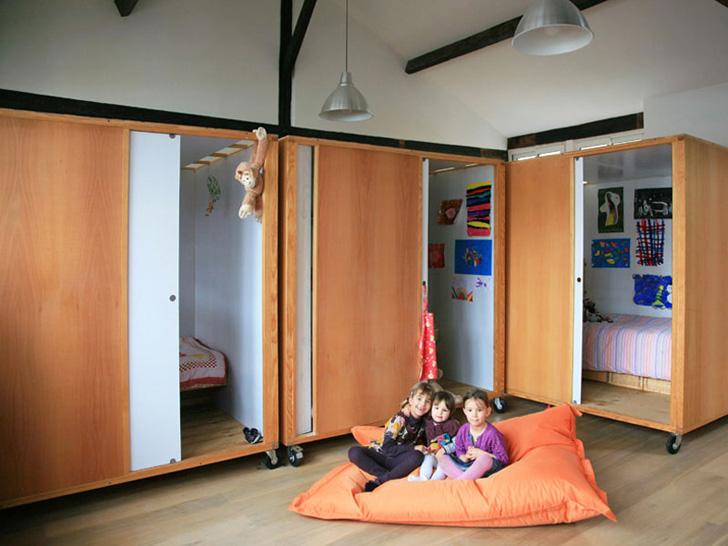 Habitación compartida para 3 hermanas