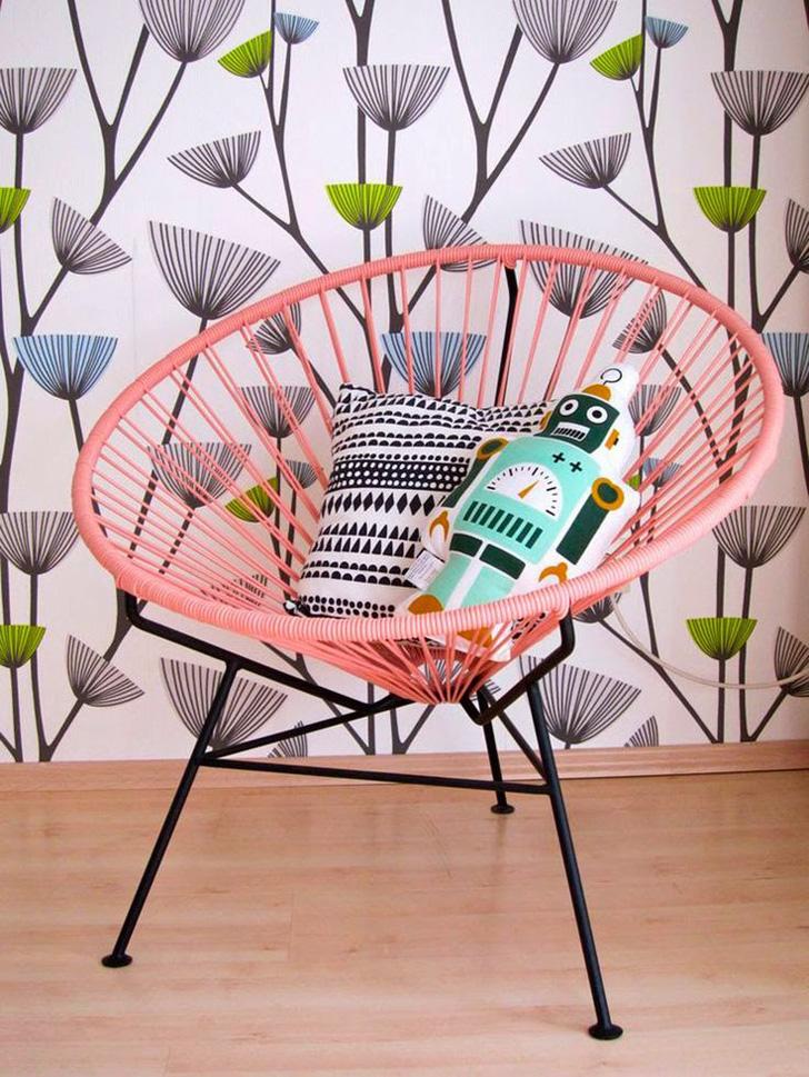 Inspiración deco con las sillas de SuperStudio