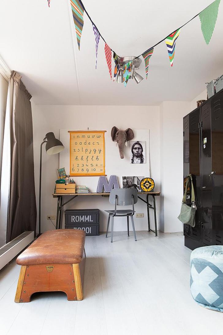 Habitación Vintage con personalidad propia