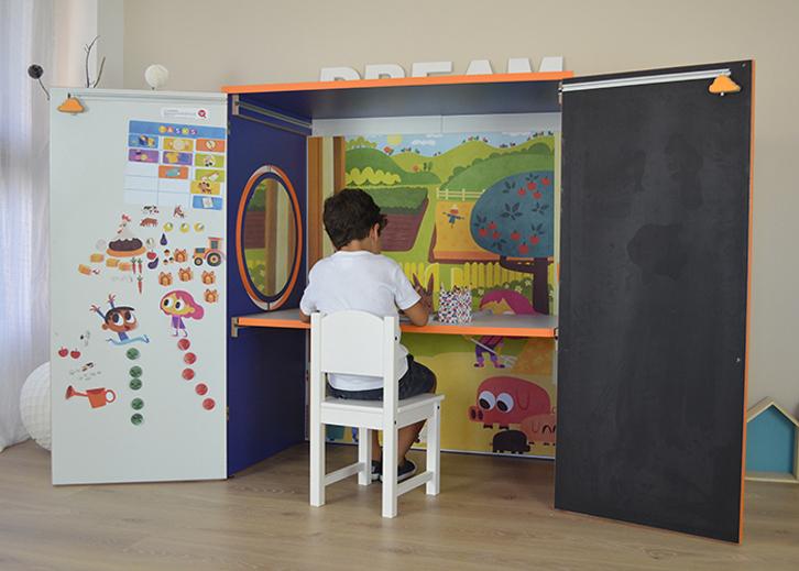 Yuhuhugs y su casita de juegos con mil funciones