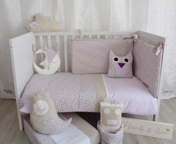 Hands&Love, textiles artesanales para bebés