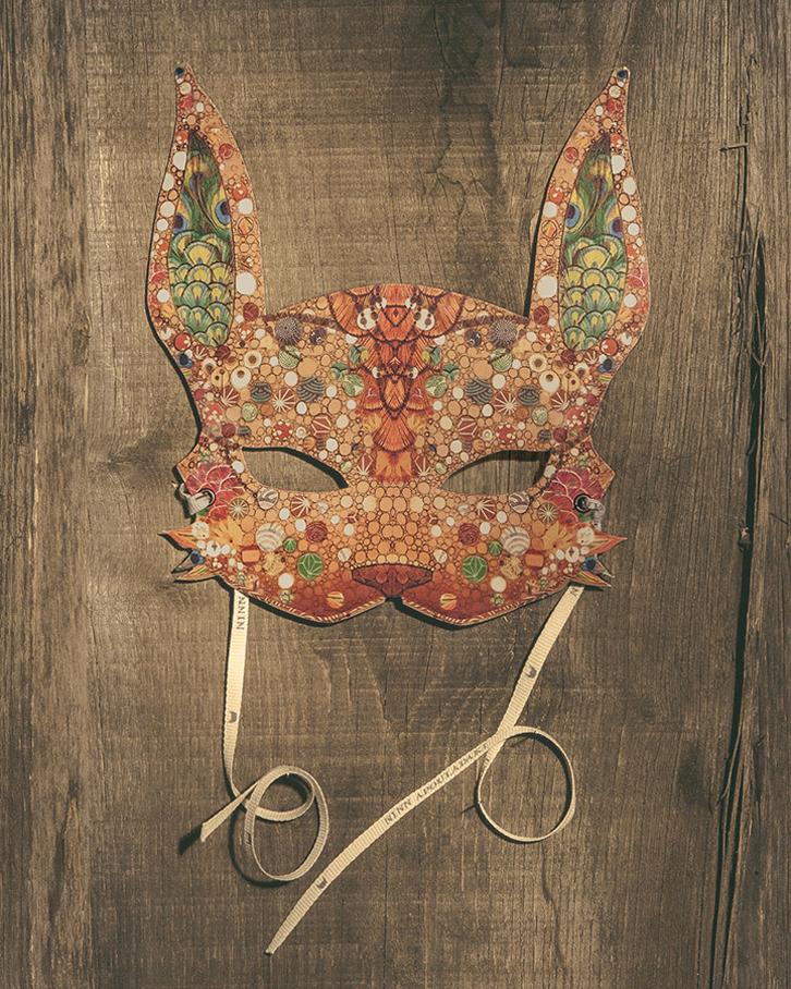Máscaras de animales con preciosos diseños
