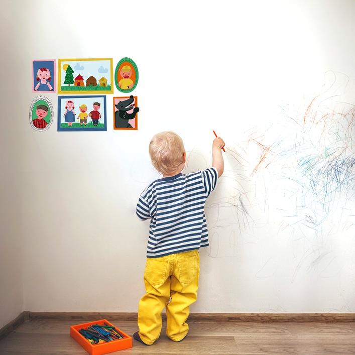 Mooiesbonito, textiles y vinilos infantiles de cuento
