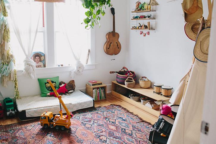 Como decorar una habitación infantil bohemia y con personalidad