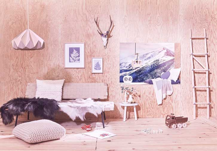 Preciosa Habitación infantil en madera