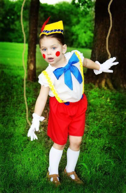 Disfraz de Pinocho casero
