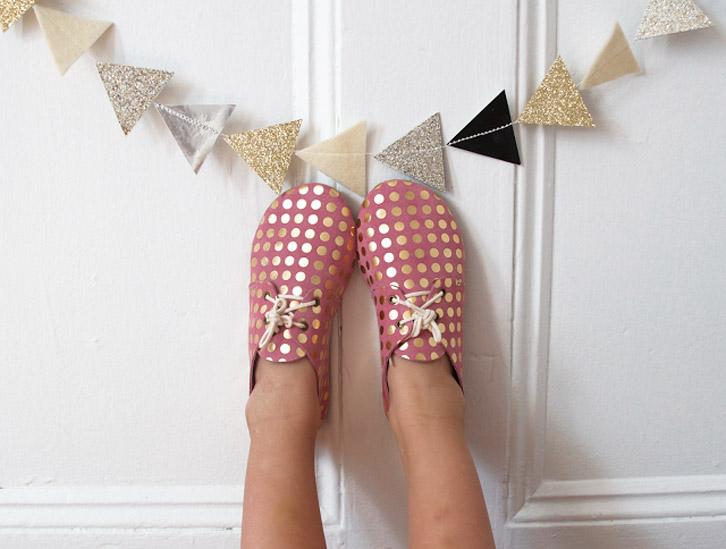 Zapatos para los niños diseñados por ti