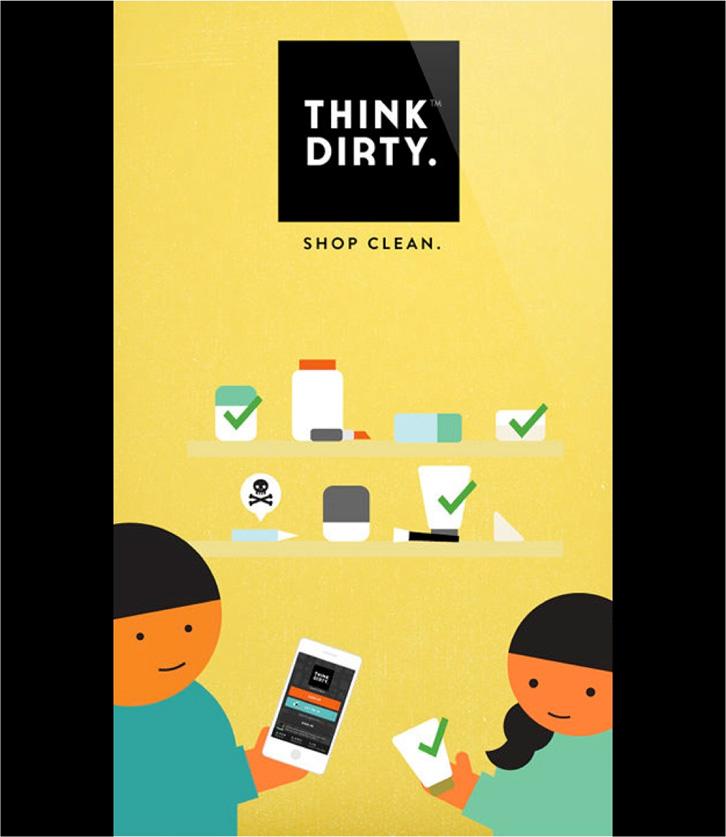 Apps para mamis: Think Dirty evalúa los cosméticos y productos de aseo