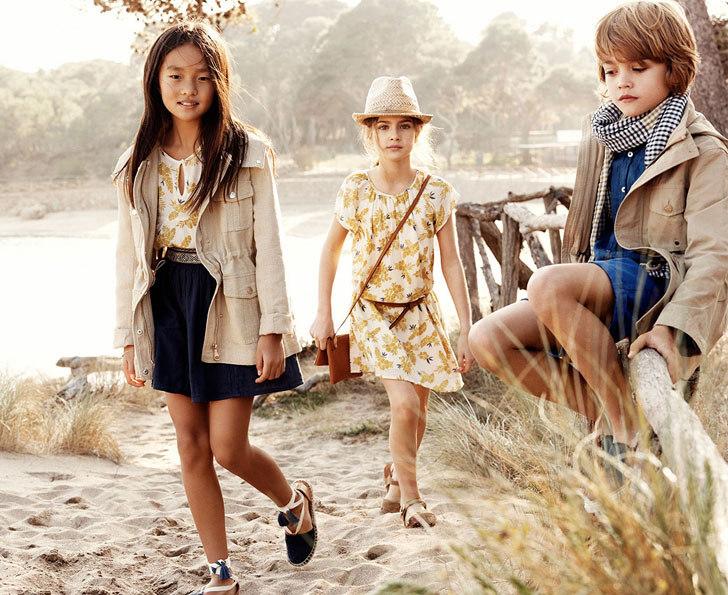 Moda infantil Massimo Dutti Kids primavera-verano 2016