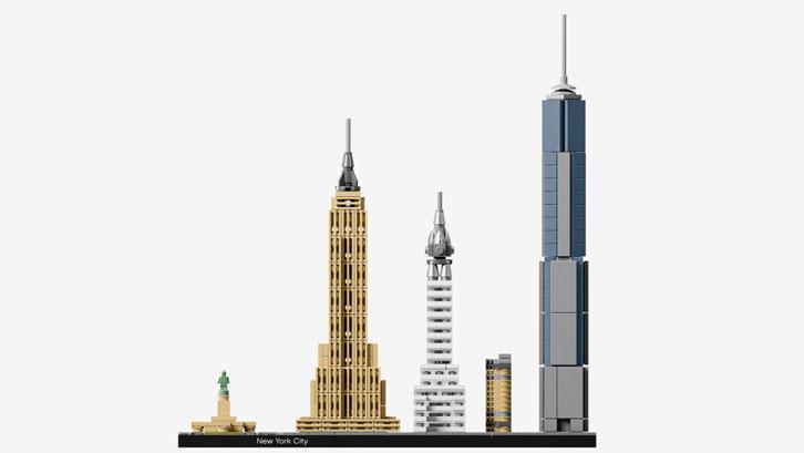 Los edificios más emblemáticos en Skyline Collection de Lego
