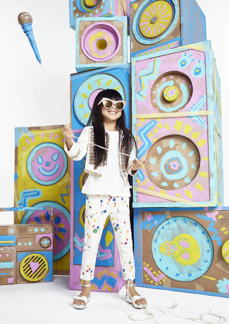 El urban chic de Stella McCartney Kids primavera-verano 2016