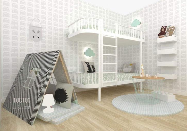 Decora la habitación infantil con los packs de TocToc Infantil