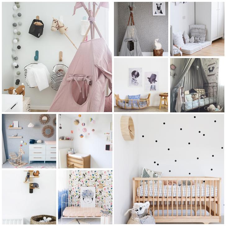 10 Ideas para copiar en la habitación del bebé