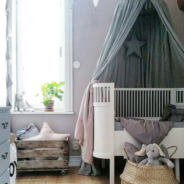 5 Decoraciones con Dosel para la habitación del bebé