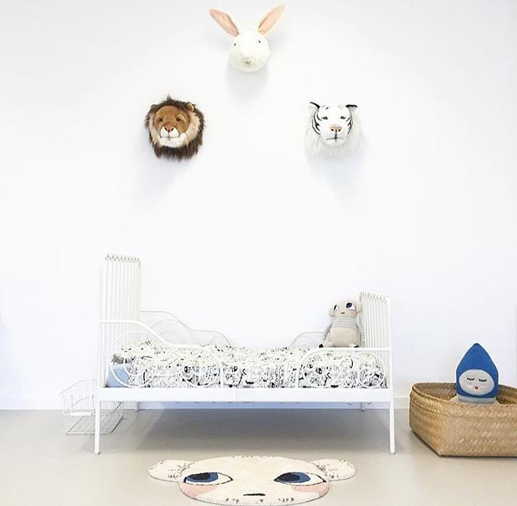 Dormitorios de bebé en Instagram … @hellolittlebirdie