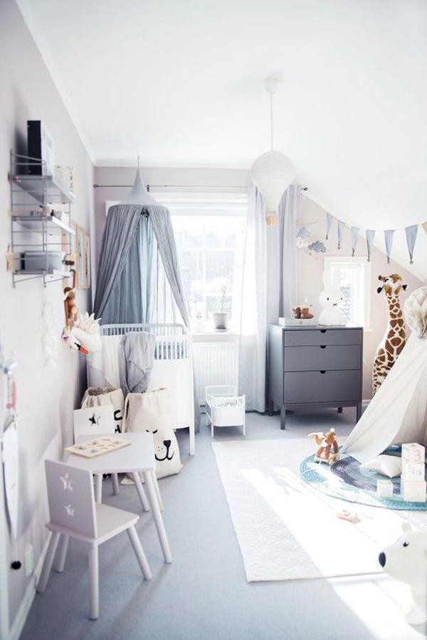 Zona de juegos en el cuarto del bebé, 6 ideas infalibles