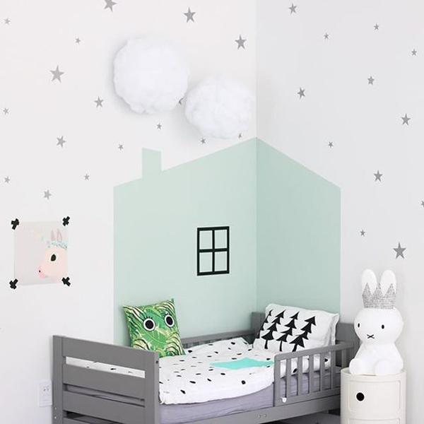 6 Ideas para pintar el cuarto infantil