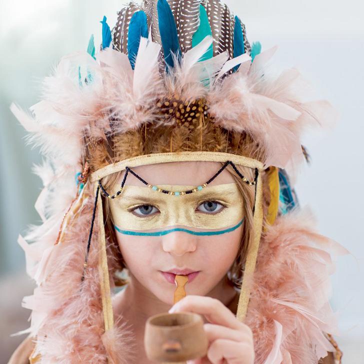 Disfraces infantiles DIY para indios salvajes – Inspiración Marie claire