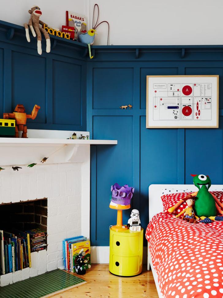 Ideas para Decorar la Habitación infantil con mucho color