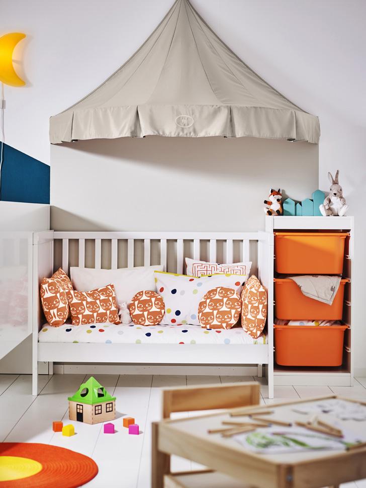 Novedades Ikea 2017: Dormitorios de bebé