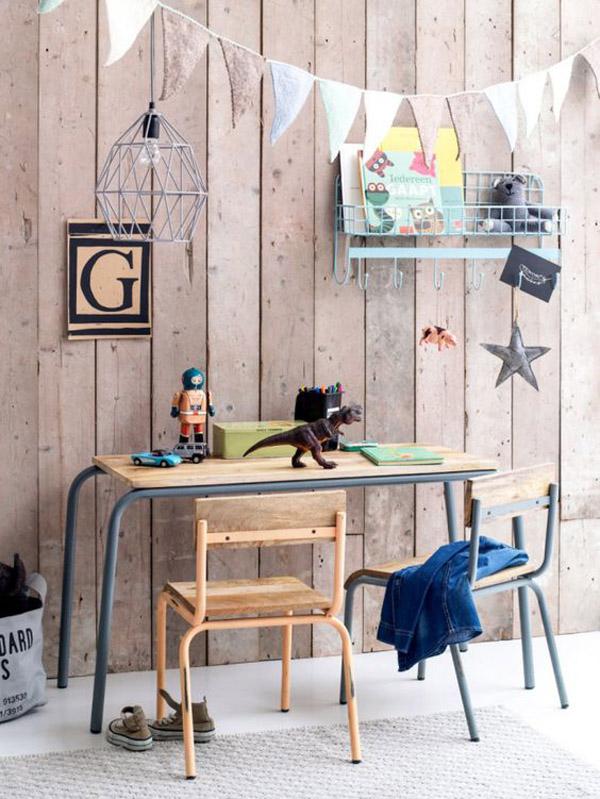 Escritorios infantiles: 24 ideas y fotos inspiradoras