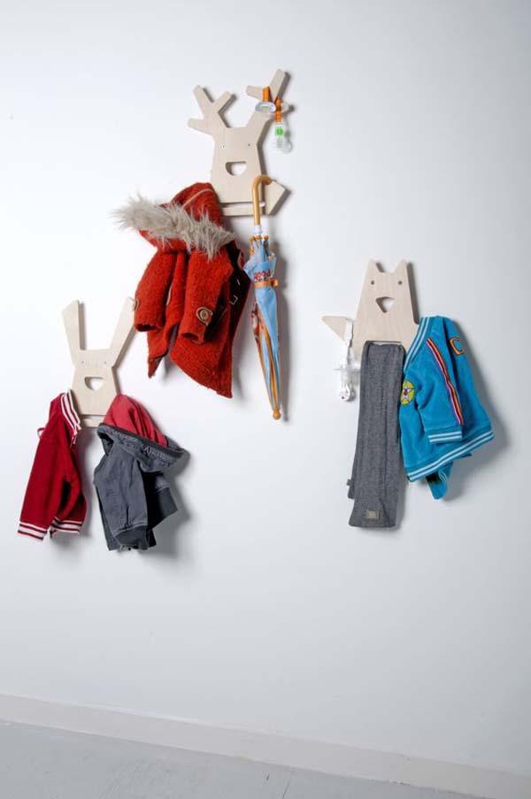 brillo de color nuevo estilo y lujo baratas para descuento 20 percheros para niños ¡Accesorios divertidos! | DecoPeques