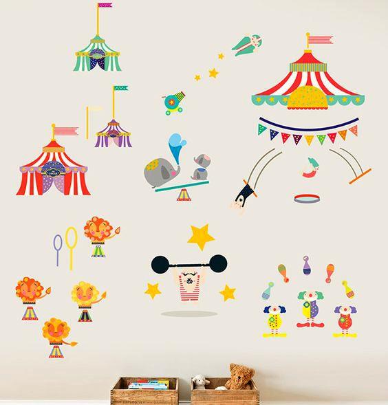 Vinilos para niños ¡Diviértete decorando las habitaciones de los peques!