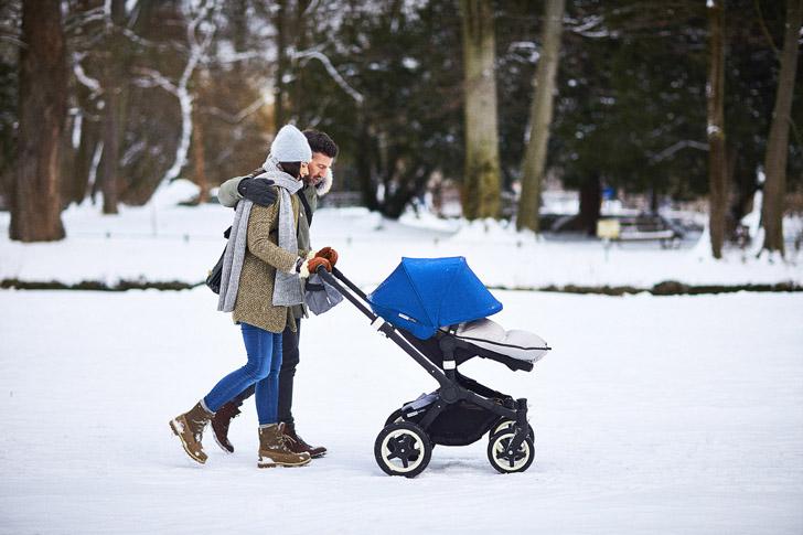 Selección de accesorios de invierno en Bugaboo ¡Adiós frío!