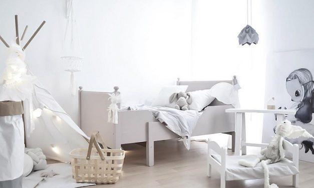 Inspiración Instagram: cuarto infantil escandinavo