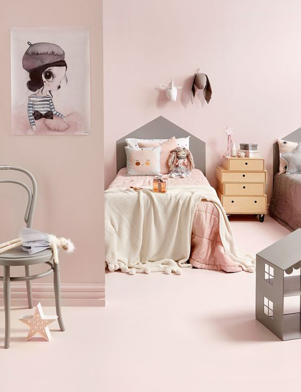 Cómo Decorar Habitaciones Infantiles En Color Rosa 6 Ideas