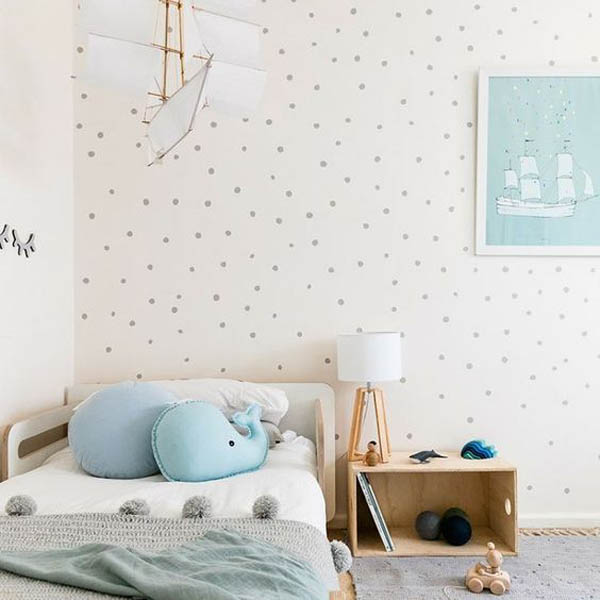 5 Habitaciones infantiles sencillas ¡y súper bonitas!