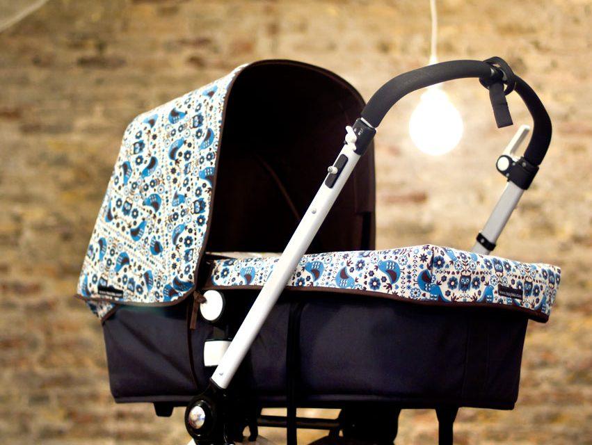 Textiles personalizados Teoyleo para el cochecito del bebé
