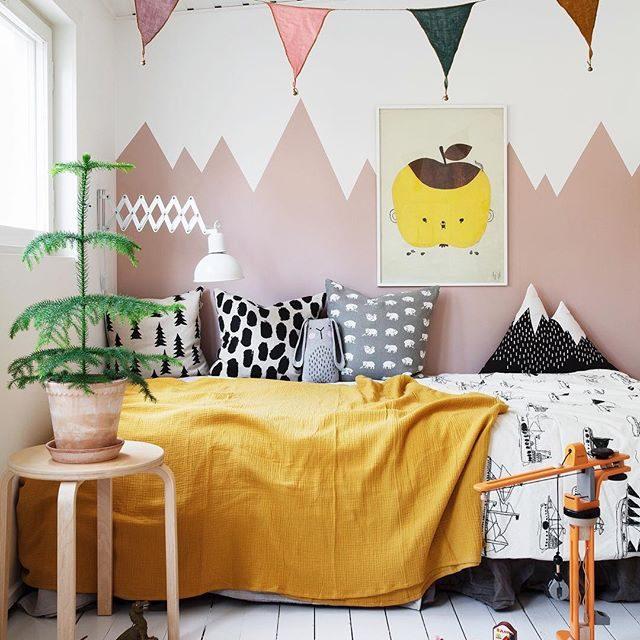 Inspiración nórdica llena de color en el Instagram de @bloggaibagis