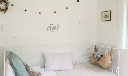 6 ideas en color blanco para decorar los cuartos infantiles