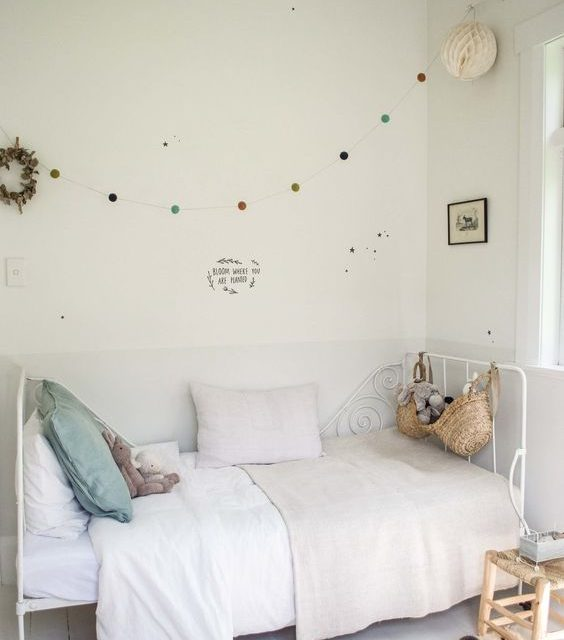6 ideas en color blanco para decorar los cuartos infantiles ...