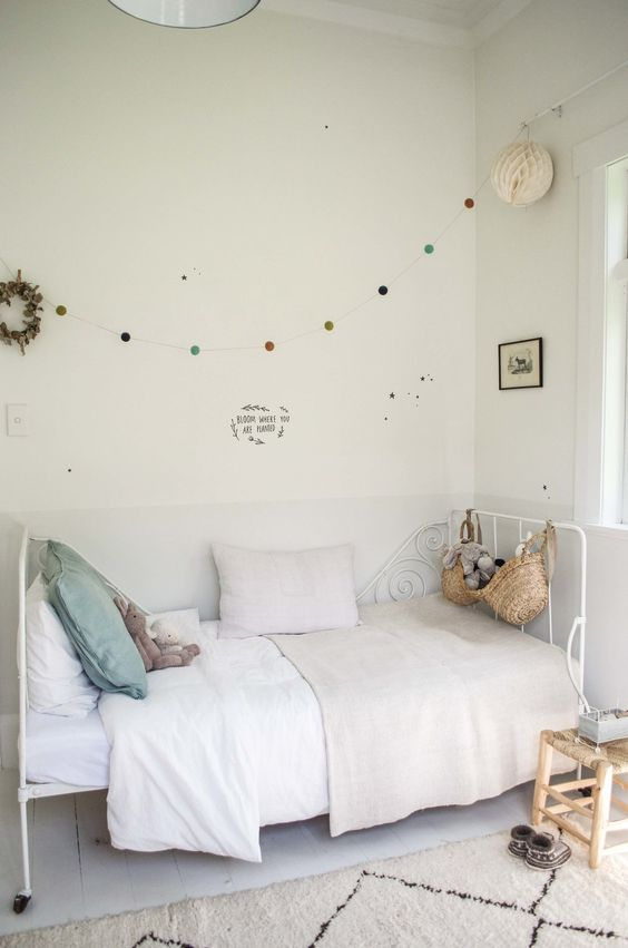 6 ideas en color blanco para decorar los cuartos infantiles | DecoPeques