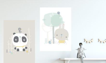 Las láminas y cuadros infantiles más bonitos del mundo
