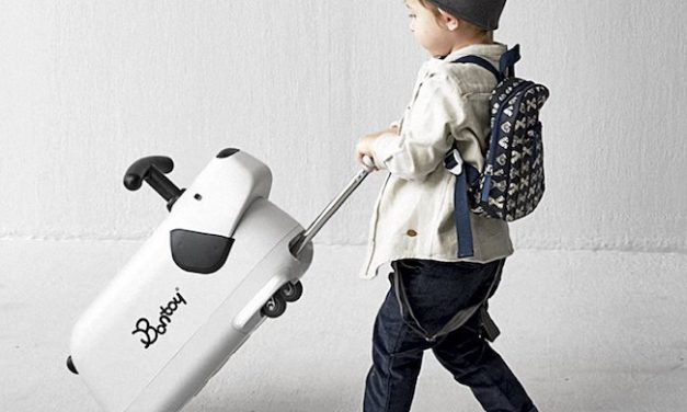 Originales maletas infantiles correpasillos de Bontoy