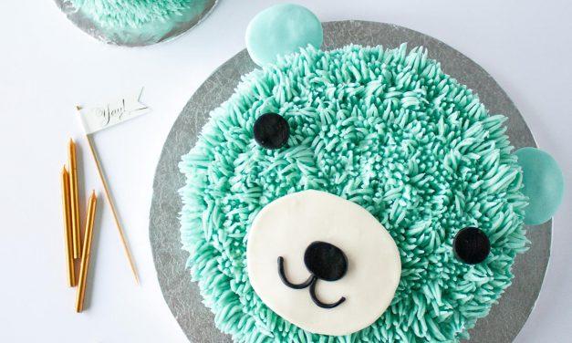 Tartas de cumpleaños para niños: una vaquita y un osito, ¡adorables!