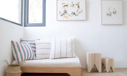 Líneas básicas + mobiliario infantil= combinación ❤