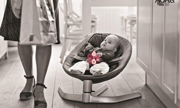 Nueva hamaca para bebé Leaf de Nuna