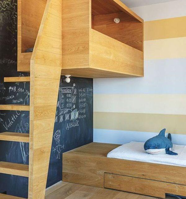 Camas loft para el cuarto infantil