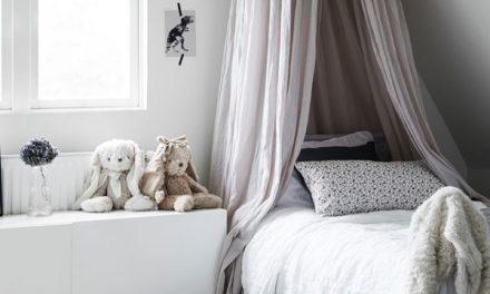 Doseles mosquitera para camas infantiles