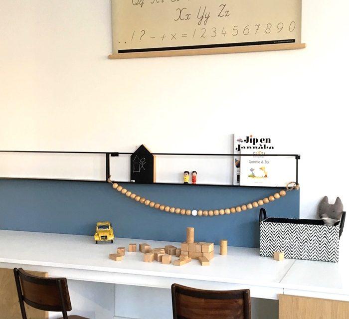 Ideas para un escritorio o zona de trabajo infantil