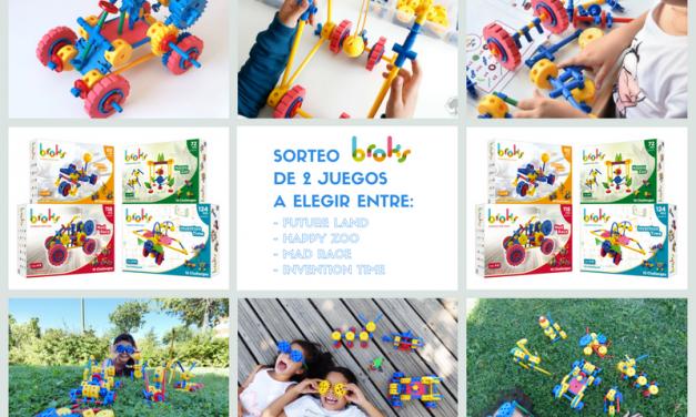 Sorteo Playbroks, los juguetes que despiertan la mente del niño