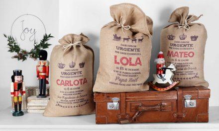 Sacos de Xmas Bag, para una Navidad personalizada