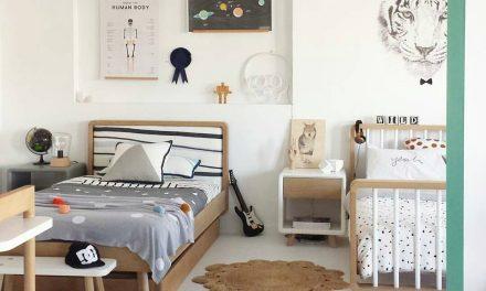 La perfecta habitación infantil para dos hermanos