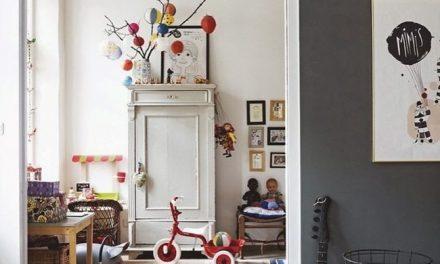 Como crear dos ambientes en un dormitorio infantil