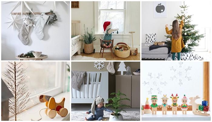 Instagram:  12 ideas de Decoración Navideña con peques en casa
