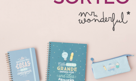 Sorteo Mr. Wonderful & DecoPeques